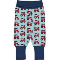 maxomorra Jungen Schlupfhose mit Traktoren Pants Rib TRACTOR