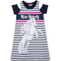 Miss Melody Sommerkleid mit Cut Outs Pferdemotiv 84035
