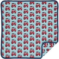 Maxomarra Babydecke mit Traktoren Blanket TRACTOR