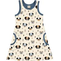 meyadey by maxomorra Tank Kleid Happy Dogs