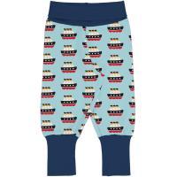 maxomorra Jungen Schlupfhose mit Booten Pants Rib FERRY