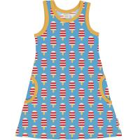 maxomorra Tank Sommerkleid Dress ICE CREAM