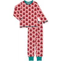 maxomorra Mädchen Schlafanzug Pyjama LADYBUG