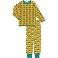 maxomorra Schlafanzug mit Fröschen Pyjama FROG