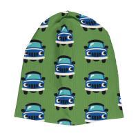 maxomorra Beanie Mütze mit Autos HAT CAR