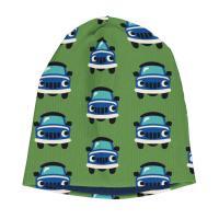 maxomorra gefütterte Beanie Mütze mit Autos Hat Velour CAR