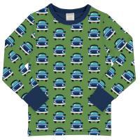 maxomorra Langarmshirt mit Autos Top LS CAR