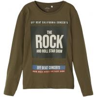 name it Jungen Langarm Shirt nkmVICTOR Rock & Roll