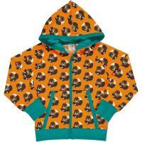 maxomorra Kapuzenjacke mit Eichhörnchen Cardigan Hood SQUIRREL