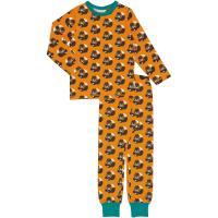 maxomorra Schlafanzug mit Eichhörnchen Pyjama SQUIRREL