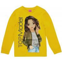 Top Model Sweatshirt mit Fergie 85075 im herbstlichem gelb