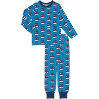 maxomorra Schlafanzug mit Hubschauber Pyjama HELICOPTER