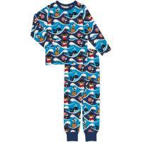 maxomorra Schlafanzug mit Ozean Motiv Pyjama OCEAN