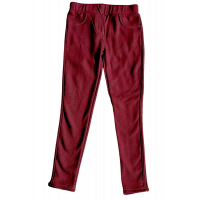 Topo warm gefütterte Thermo Jeggings in Berry