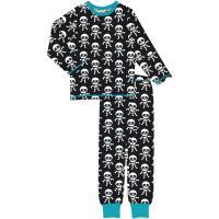 maxomorra Schlafanzug mit Skeletten  Halloween CollectionPyjama SKELETON