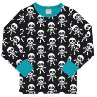 maxomorra Halloween Collection Langarmshirt mit Skeletten SKELETON