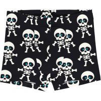 maxomorra Jungen Unterhose mit Skeletten Boxer Shorts SKELETON