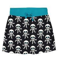 maxomorra Rock mit Skeletten Halloween Collection Skirt SKELETON